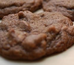 Chocolate Cookie with Chocolate Peanut Butter