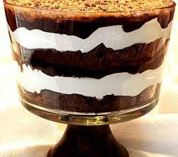 Chocolate Macaroon Trifle