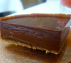 Chocolate Mousse Flan