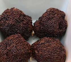 Chocolate Truffle With Dark Chocolate Shavings