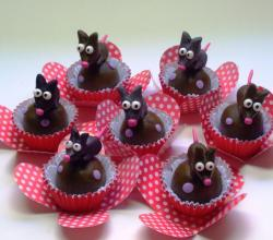 Chocolate Truffles - Rats from South Park