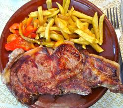 Chuletón de Sotosalbos with Fries