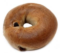 Cinnamon-Raisin-Bagel