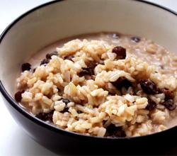 Cinnamon Raisin Rice