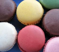 Closeup of Macarons