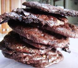 Cocoa crackle cookies