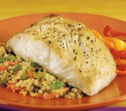 Deworming Cod Or Halibut