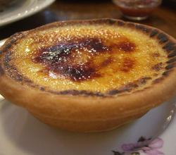 Creme Brulee Tart at Sugardough Panificio