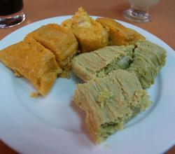 Creole and green tamales