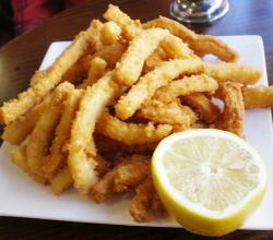 Crispy Fried Squid