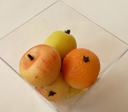 Diffrent Fruits shaped marzipan