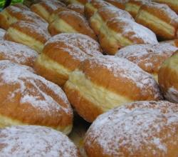 Doughnuts from czech bakery