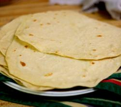 Easy Flour Tortillas