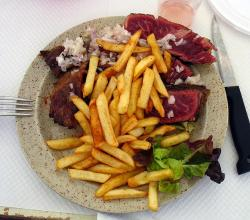 Entrecote with French Fries