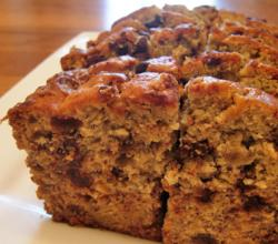 Extra-moist chocolate chip banana bread
