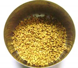 Fenugreek Seeds in a Bowl