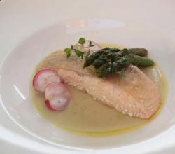 Fillet Of Salmon Au Champagne