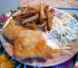Fish, Chips and Coleslaw