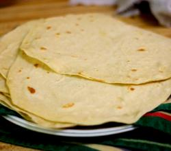 Flour Tortillas With Baking Soda