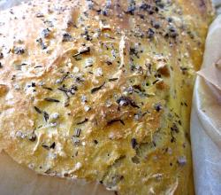 Foccacia with herbs