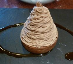 french Mont Blanc dessert