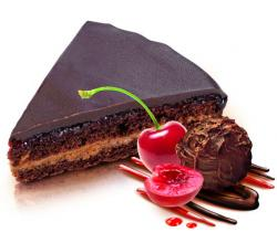 Fruit layer Choco Cake