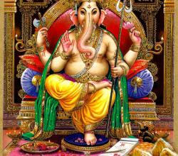 Ganesha With Modak