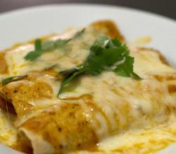 Garlic Flavored Cheese Enchiladas