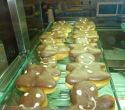 Gingerbread man Donuts