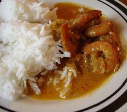 Goan Catholic prawn curry