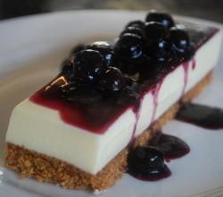 Goats Curd Cheese Cake