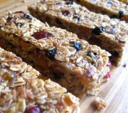 Grape Granola Bars