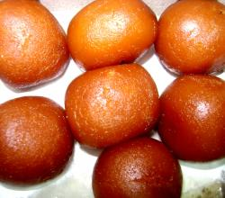 Gulab Jamuns from Close