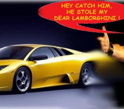 The Teen Who Dared To Steal Guy Fieri's Yellow Lamborghini !