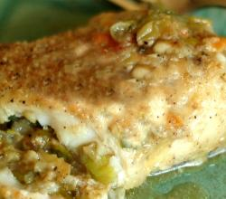 Haddock With Parmesan Stuffing