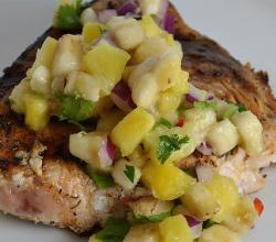 Haddock With Pineapple