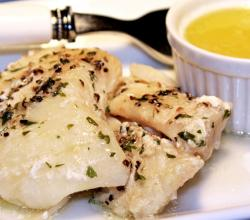 Halibut In Citrus Sauce