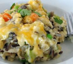 Healthy Chicken and Brown Rice Casserole