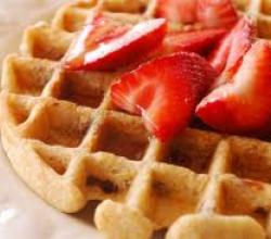 Cinnamon Oatmeal Waffles