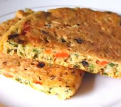 Healthy Vegetable Omelette