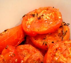 Herb Grilled Tomatoes