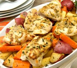 Herbed Chicken With Vegetables