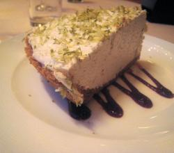 home-made key lime pie