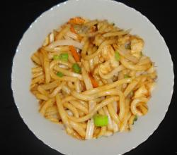 Homemade Chicken Chow Mein