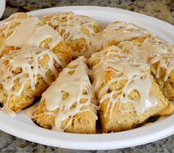 Honey Oat Scones