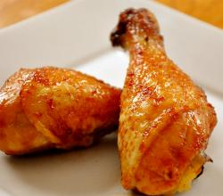 Honey Glazed Chicken Drumsticks