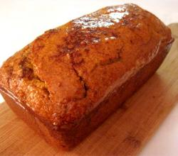 Honey Glazed Pumpkin Bread