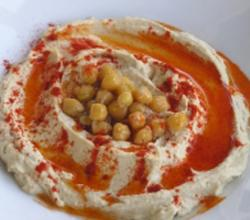 Hummus with Chickpeas