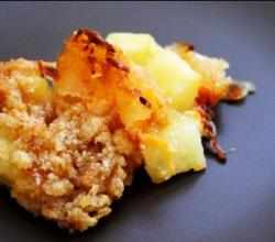Hawaiian Ham Pineapple Casserole