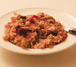 Jambalaya with chicken